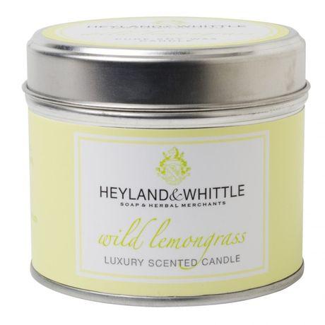 Heyland & Whittle Tin sviečka 180 g, Wild Lemongrass