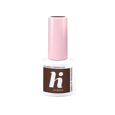 Hi Hybrid Laky lak na nechty 5 ml, 413 Classic Copper