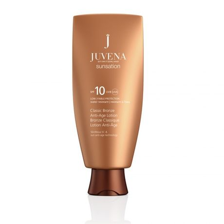 Juvena Sunsation krém na opaľovanie 150 ml, Superior Sun Lotion SPF 10 Tan Intensifying
