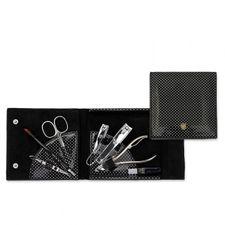 Kellermann Manikúra Set manikúra 1 ks, Black Silver 7838PN