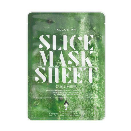 Kocostar Mask hydratačná maska 31 g, Slice Mask Sheet Uhorka
