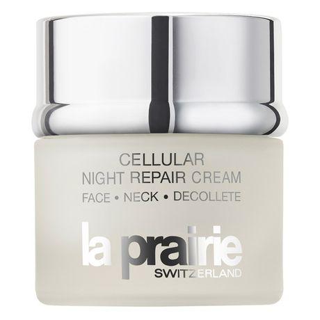 La Prairie Swiss Moisture pleťový krém 50 ml, Cellular Night Repair Cream Face-Neck-Decollete