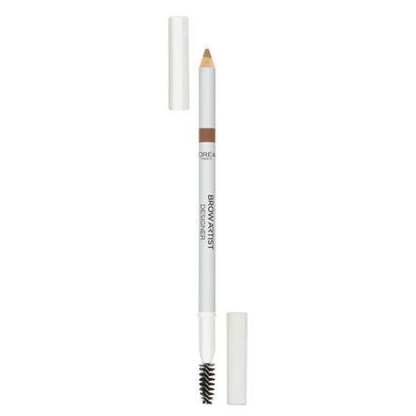 L'Oreal Paris Brow Artist Designer ceruzka na obočie, 302 Light Brunette