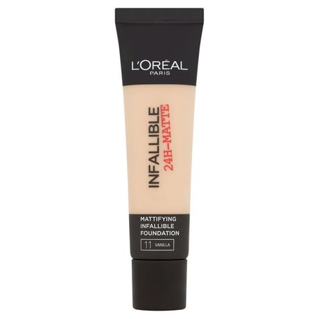 L'Oreal Paris Infallible 24H Matte make-up 35 ml, 11 Vanilla