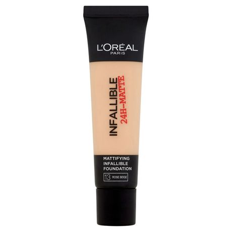 L'Oreal Paris Infallible 24H Matte make-up 35 ml, 13 Rose Beige