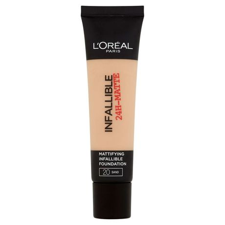 L'Oreal Paris Infallible 24H Matte make-up 35 ml, 20 Sand