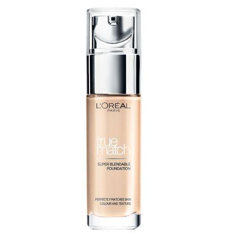 L'Oreal Paris True Match Make Up make-up 30 ml, 1N Ivory