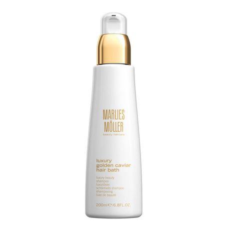 Marlies Moller Luxury Golden Caviar šampón 200 ml, Golden Caviar Hair Bath