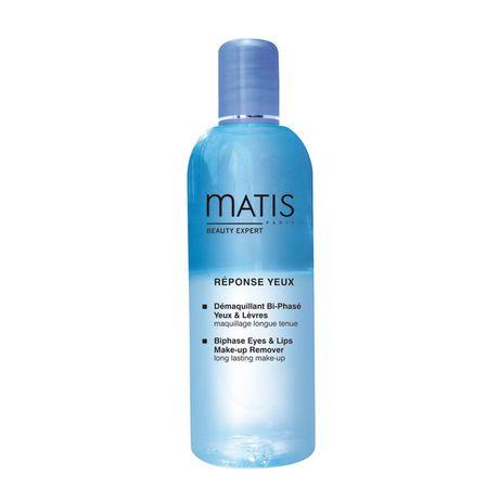 Matis Reponse Yeux Line odličovač 125 ml, Biphase eyes & lips make-up remover
