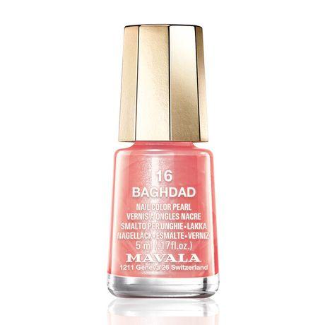 Mavala Mini color lak na nechty 5 ml, 16 Baghdad, marhuľový s perleťou svetlá