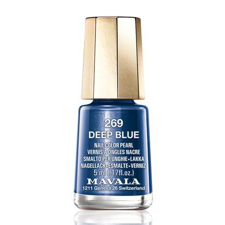 Mavala Mini color lak na nechty 5 ml, 269 Deep Blue