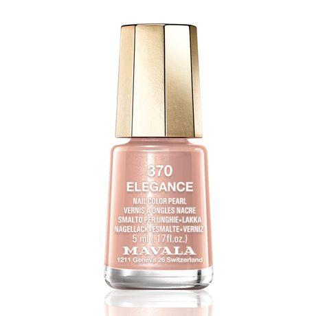 Mavala Mini color lak na nechty 5 ml, 370 Elegance, horká čokoláda bez perlete