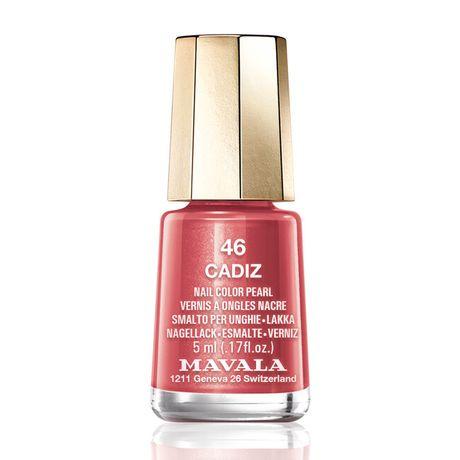 Mavala Mini color lak na nechty 5 ml, 46 Cadiz, hrdzavočervený s perleťou