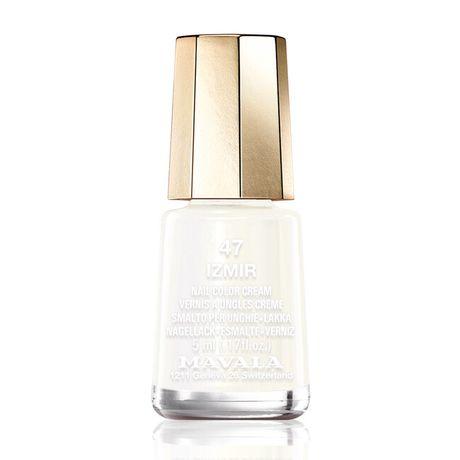 Mavala Mini color lak na nechty 5 ml, 47 Izmir, biely bez perlete