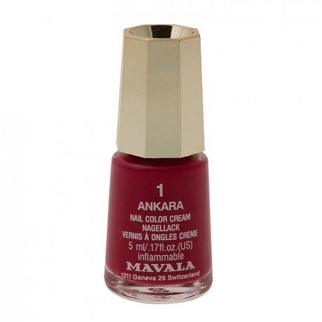 Mavala Mini color lak na nechty 5 ml, 53 London, tmavočervený bez perlete