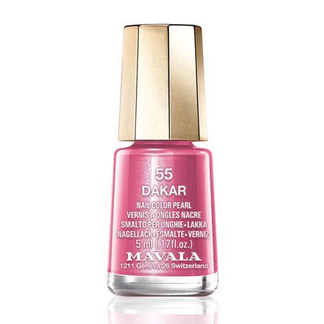 Mavala Mini color lak na nechty 5 ml, 55 Dakar, ružovohnedý s perleťou