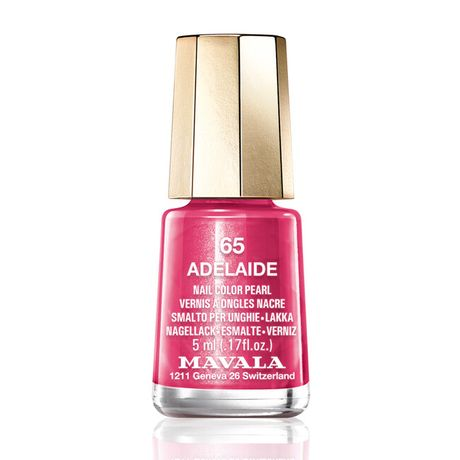 Mavala Mini color lak na nechty 5 ml, 65 Adelaide, cyklaménovoružový s perleťou