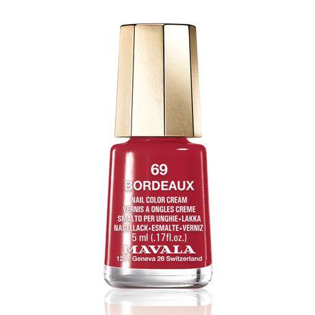 Mavala Mini color lak na nechty 5 ml, 69 Bordeaux, bordový bez perlete