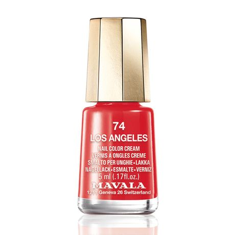 Mavala Mini color lak na nechty 5 ml, 74 Los Angeles, krvavočervený bez perlete