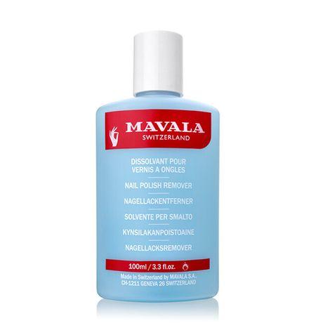 Mavala Produkty na nechty odlakovač 100 ml, Polish remover blue