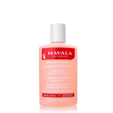 Mavala Produkty na nechty odlakovač 100 ml, Polish remover pink