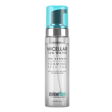 MineTan MineTan samoopaľovací prípravok 200 ml, Micellar Water Pre Shower Gel