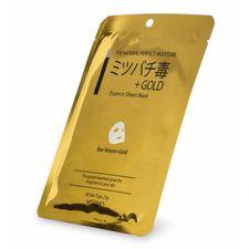 Mitomo Mask pleťová maska 1 ks, Gold & Bee Venom
