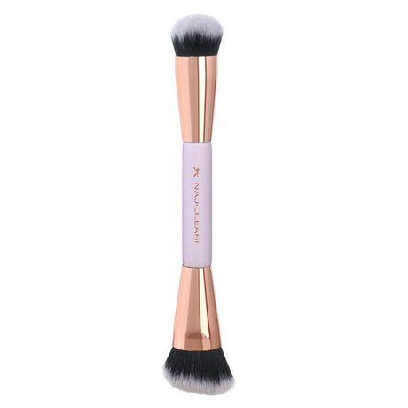 Naj Oleari Doplnky štetec 1 ks, Blush & Highlighter Duo Brush