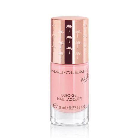 Naj Oleari Oleo Gel Nail Lacquer lak na nechty 8 ml, 10 Frosty Pink