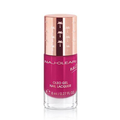 Naj Oleari Oleo Gel Nail Lacquer lak na nechty 8 ml, 17 Raspberry