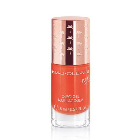 Naj Oleari Oleo Gel Nail Lacquer lak na nechty 8 ml, 19 Sunset Orange