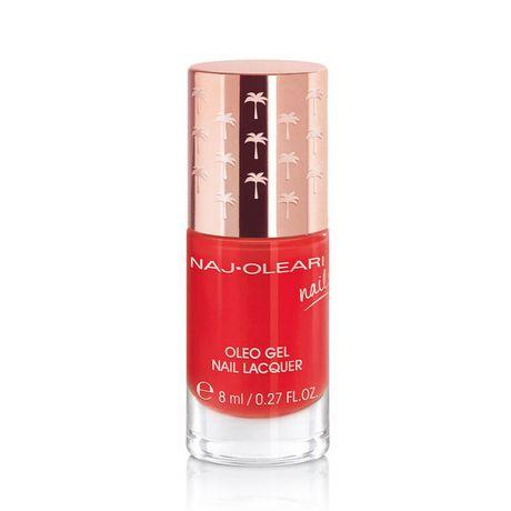 Naj Oleari Oleo Gel Nail Lacquer lak na nechty 8 ml, 21 Poppy Red