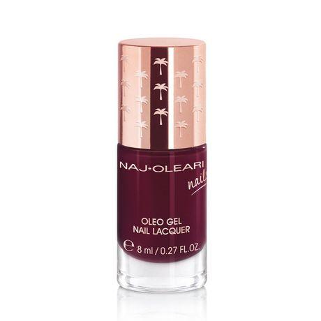 Naj Oleari Oleo Gel Nail Lacquer lak na nechty 8 ml, 25 Black Red