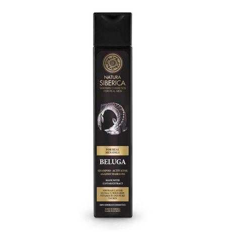 Natura Siberica Men šampón 250 ml, Hair Growth Shampoo-Activator Beluga