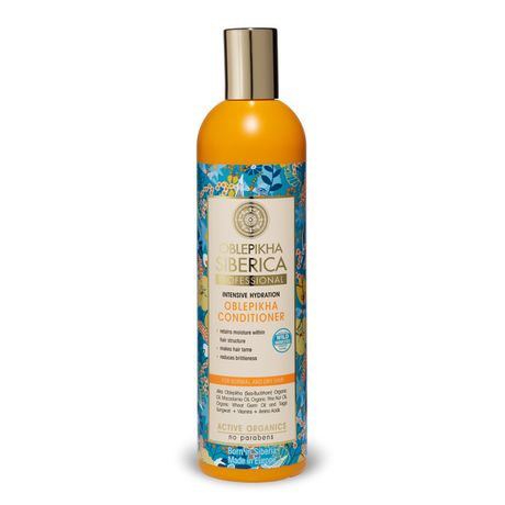 Natura Siberica Oblepikha kondicionér 400 ml, Hair Conditioner For Normal And Dry Hair