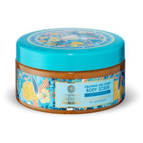 Natura Siberica Oblepikha telový peeling 300 ml, And Honey Body Scrub