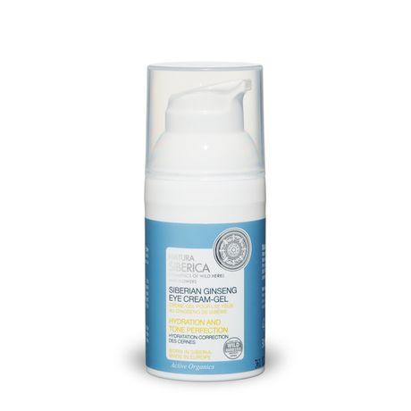 Natura Siberica Serums očné sérum 30 ml, Siberian Ginseng Eye Cream-Gel