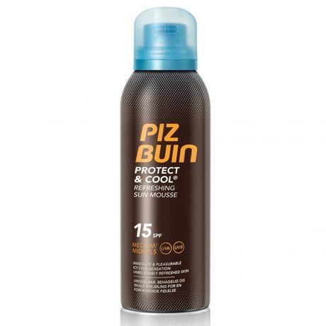 Piz Buin Protect&Cool opaľovací prípravok 150 ml, Sun Mousse SPF 15