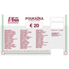 06bfcf4aa Darčekové poukážky - FAnn.sk internetová parfuméria