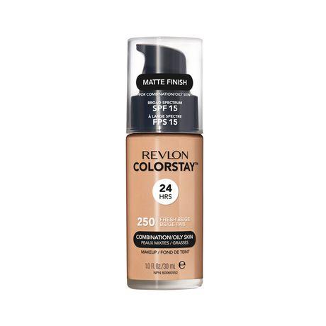 Revlon ColorStay Make Up Pump Combination Oily Skin make-up 30 ml, 250 Fresh Beige