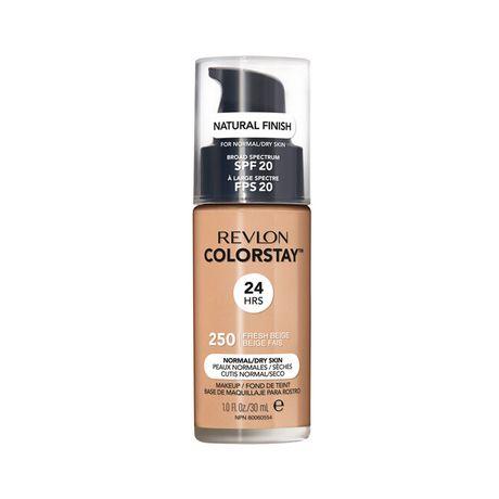 Revlon ColorStay Make Up Pump Normal Dry Skin make-up 30 ml, 250 Fresh Beige
