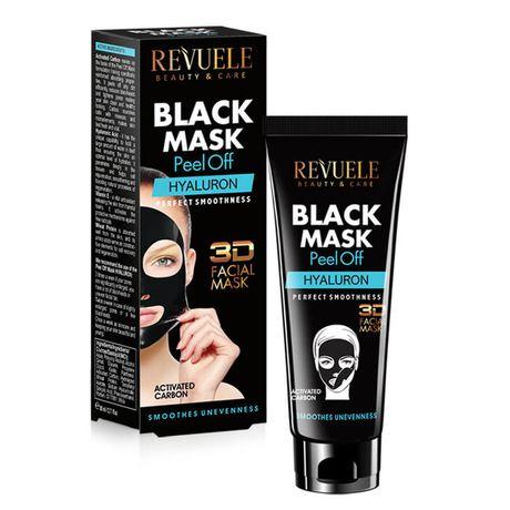 Revuele 3D Hyaluron peelingová maska 80 ml, Black Mask Peel Off