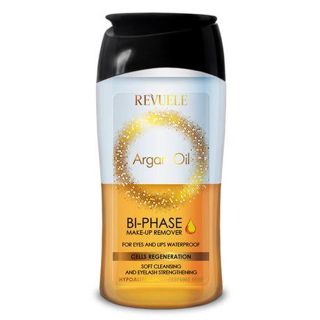 Revuele Argan Oil pleťový odličovač 160 ml, Bi-Phase Waterproof Make-up Remover