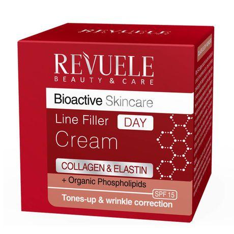 Revuele Collagen & Elastine denný krém 50 ml, Line Filler Day Cream