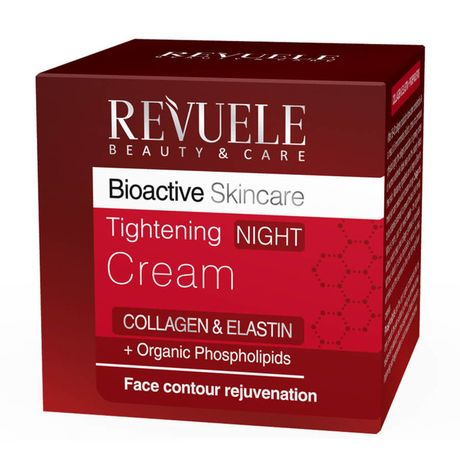 Revuele Collagen & Elastine nočný krém 50 ml, Tightening Night Cream