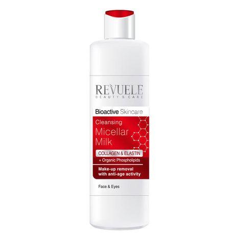 Revuele Collagen & Elastine odličovacie mlieko 200 ml, Micellar Make-up Remover Milk