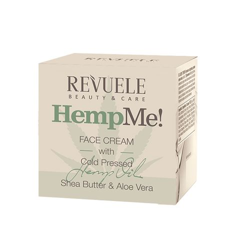 Revuele Hemp Me pleťový krém 50 ml, Face Cream