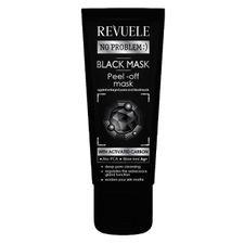 Revuele No Problem čistiaca maska 80 ml, Black Mask Peel Of