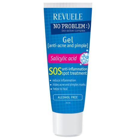 Revuele No Problem čistiaci gél 25 ml, SOS anti-inflammation spot treatment gel with salicylic acid