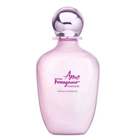 Salvatore Ferragamo Amo Flowerful sprchový gél 200 ml